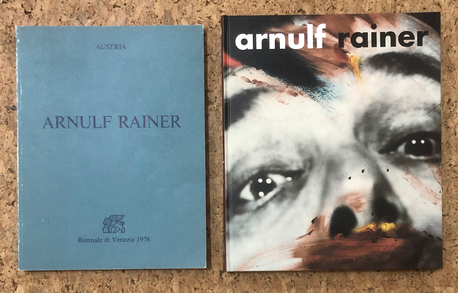 ARNULF RAINER - Lotto unico di 2 cataloghi