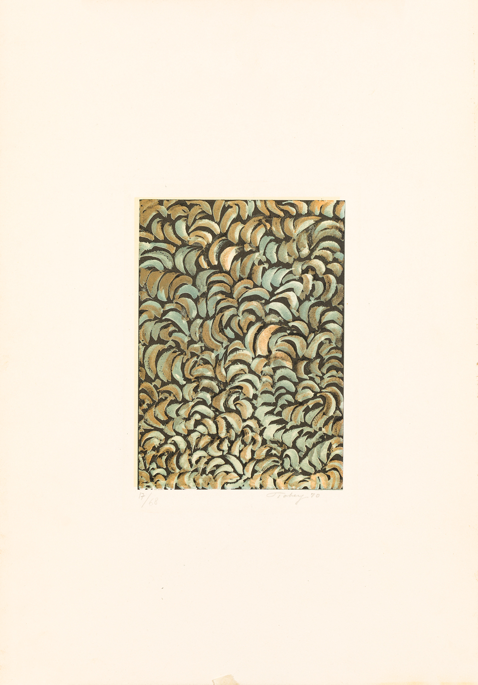 MARK TOBEY (1890-1976) - Senza Titolo, 1970