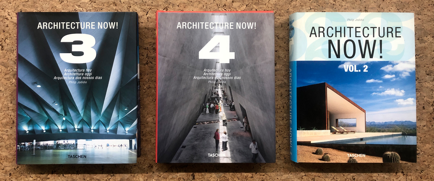 ARCHITECTURE NOW - Lotto unico di 3 volumi della raccolta: